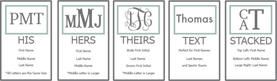 Monogram-etiquette-his-hers-theirs-text-stacked