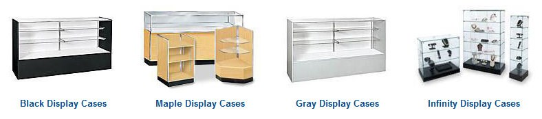 Store Supply Warehouse Display Cases